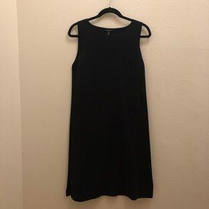 Eileen Fisher Black Midi Dress